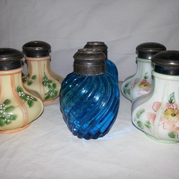 Vintage Salt and Pepper Shakers - Kitchen