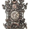 Magnificent carved (spring driven) wall cuckoo clock. WHAT A CARVING!