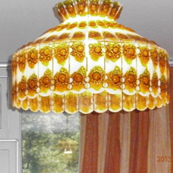 glass lamp 75 panels