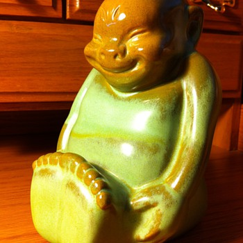 Frankoma Billiken Wall Pocket - Art Pottery