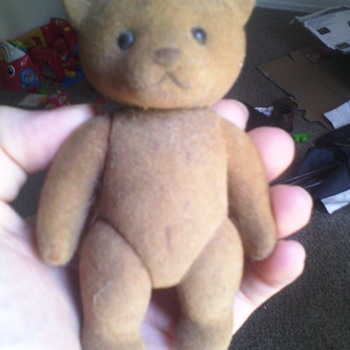 Small plastic bear! Please help lol