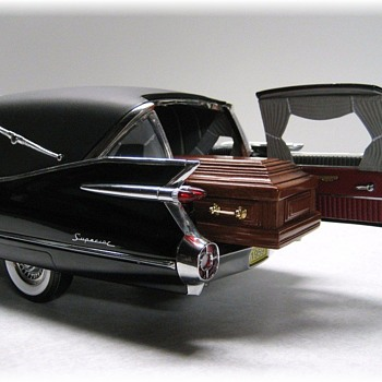 1959 Cadillac Hearse Die-Cast Replica