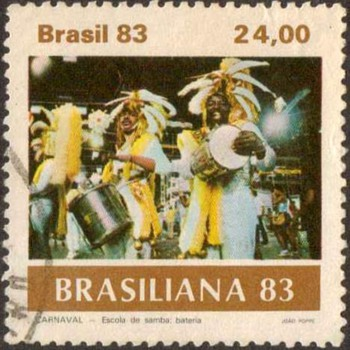 "1983 - Brazil ""Carnivale"" Postage Stamps - Stamps"