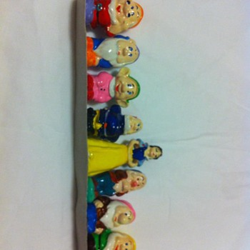 Snow White and the Seven Dwarfs Figurines - Movies