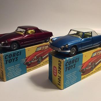 Corgi toys Citroen Le Dandy coupes