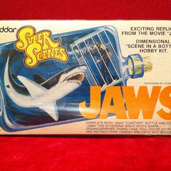 Jaws Model Kit 1975 - Movies