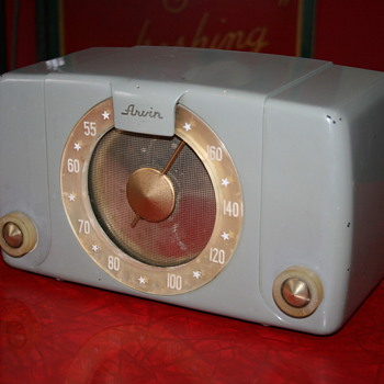 arvin bakelite radio