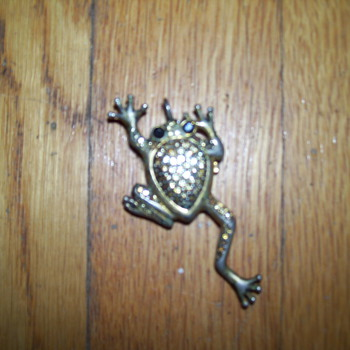 vintage xanadu frog watch necklace