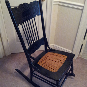 How to date a rocking chair?