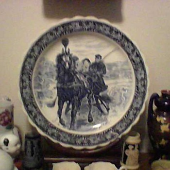 LARGE PORCELAIN CHARGER