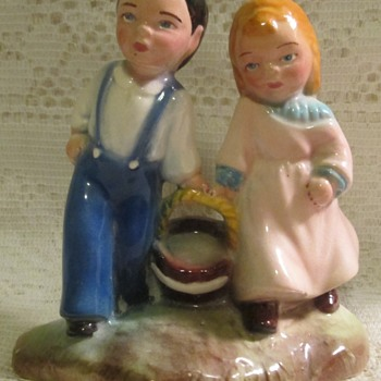 Jack and Jill figurine, Brad Keeler - Figurines