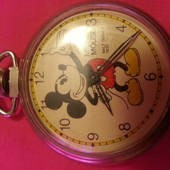 mickey mouse walt disney 1935 - Pocket Watches