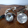 old miners head lamps