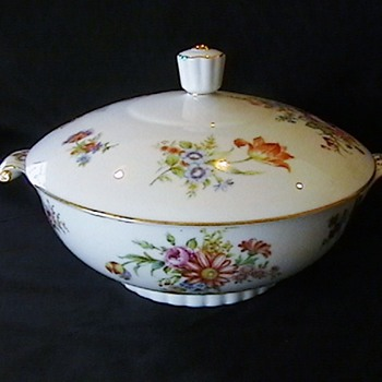 ALADDIN FINE CHINA &#039;DRESDEN ROSE&#039; OCCUPIED JAPAN