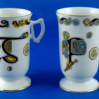 #6 Royal Tara Bone China Coffee Mugs - China and Dinnerware