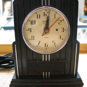 Waterbury No. 114 &quot;Modernistic&quot; - Clocks
