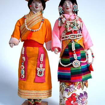Some of my favorite national costume dolls