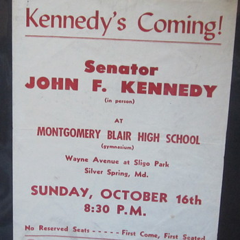 Kennedy Rally Brochure
