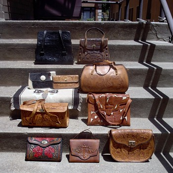 Tooled leather bag collection - Bags