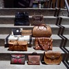 Tooled leather bag collection