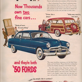1950 Ford Advertisement - Advertising