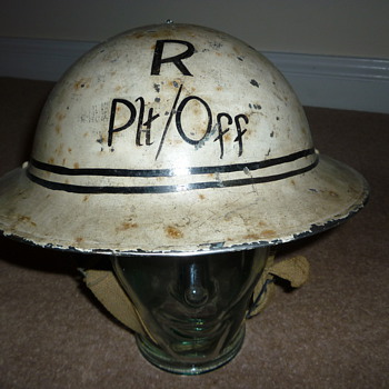 British WW11 Royal Air Force Rescue helmet - Military and Wartime