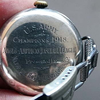U. S. ARMY BASEBALL PRESENTATION WATCH 1918