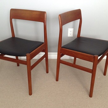 I love these danish teak chairs but… - Furniture