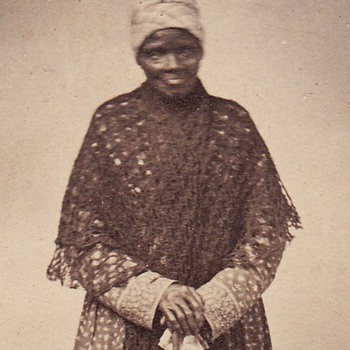 CDV of African American Servant c. 1862