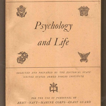 US Military Education Manual - Psychology
