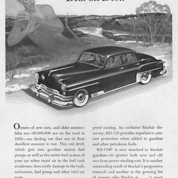 1951 - Sinclair Oil Co. Advertisement - Advertising