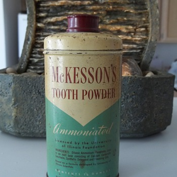 McKesson & Robbins, Tooth Powder. 1950's ?