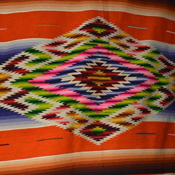 Mexican Saltillo / Serape I won on ebay