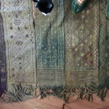 Vintage flat weave rug, what is it? - Rugs and Textiles