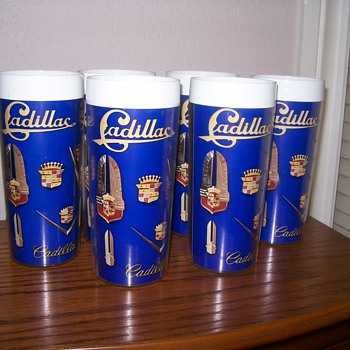 Cadillac Insulated Plastic Tumblers