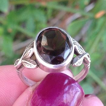 Bernard Instone Silver ring - Art Deco