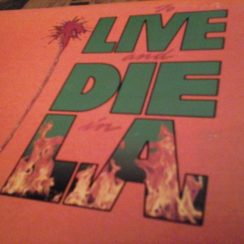 """To Live And Die In L.A."" Soundtrack"