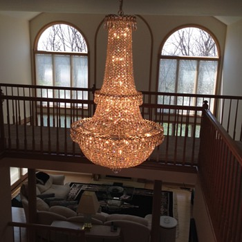Crystal chandeliers  - Lamps