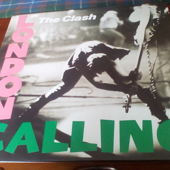 "The Clash "" London Calling"" - Records"