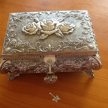 Ornate Jewellery Box - Fine Jewelry