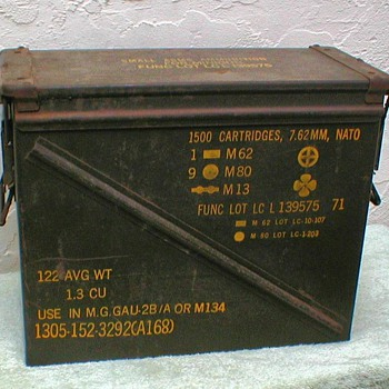 NATO Military Ammo Box - Military and Wartime