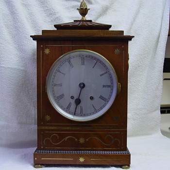Mantel Clock of Unknown Origin, Please Help