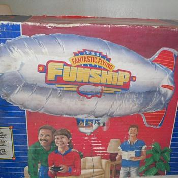remote control blimp (funship)