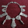 Antique Silver IHS Necklace