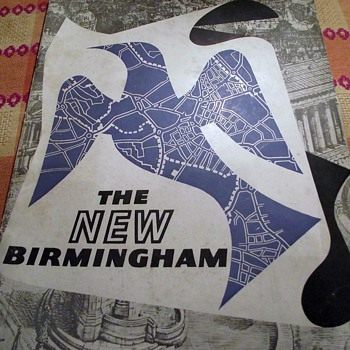 1957-the new birmingham-book-city centre redevelopments.