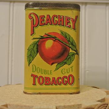 Peachey Doublecut Tobacco Tin