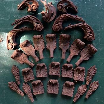 Victorian Era Cast Iron Ornate Flagpole Base