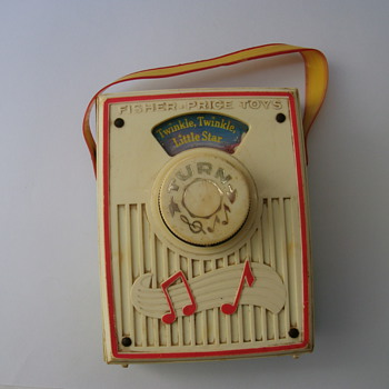 Vintage Children Music Box.