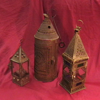 Early Tin Lanterns