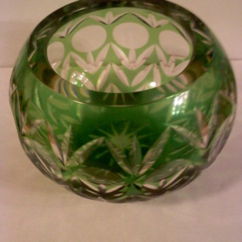 Green Glass - Art Glass